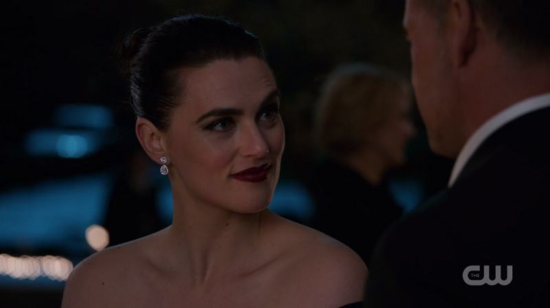 Lena's eyebrow is raised and it's A Lot