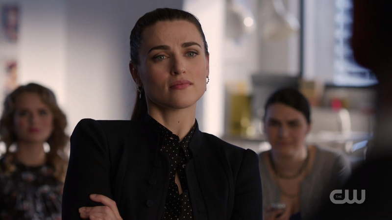 Lena stands off against Edge