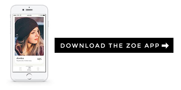 Button: Download the Zoe App