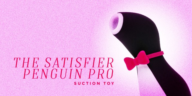 Satisfier Penguin Pro Suction Toy