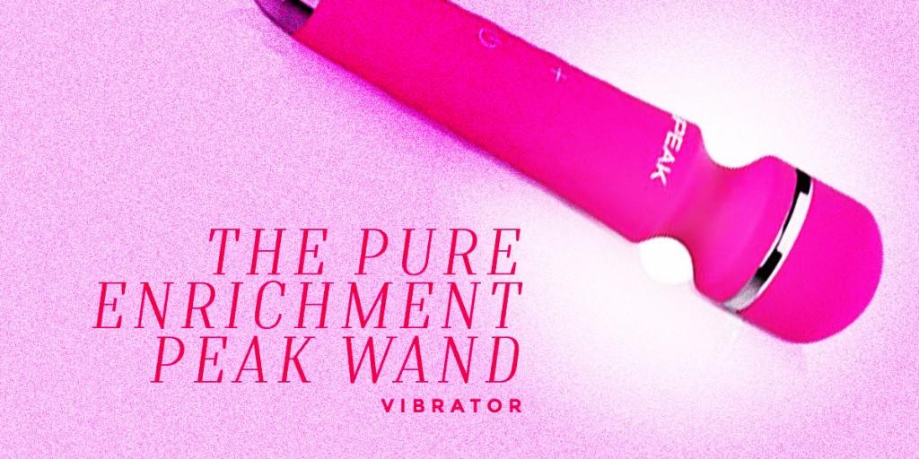 The Pure Enrichment Peak Wand Vibrator
