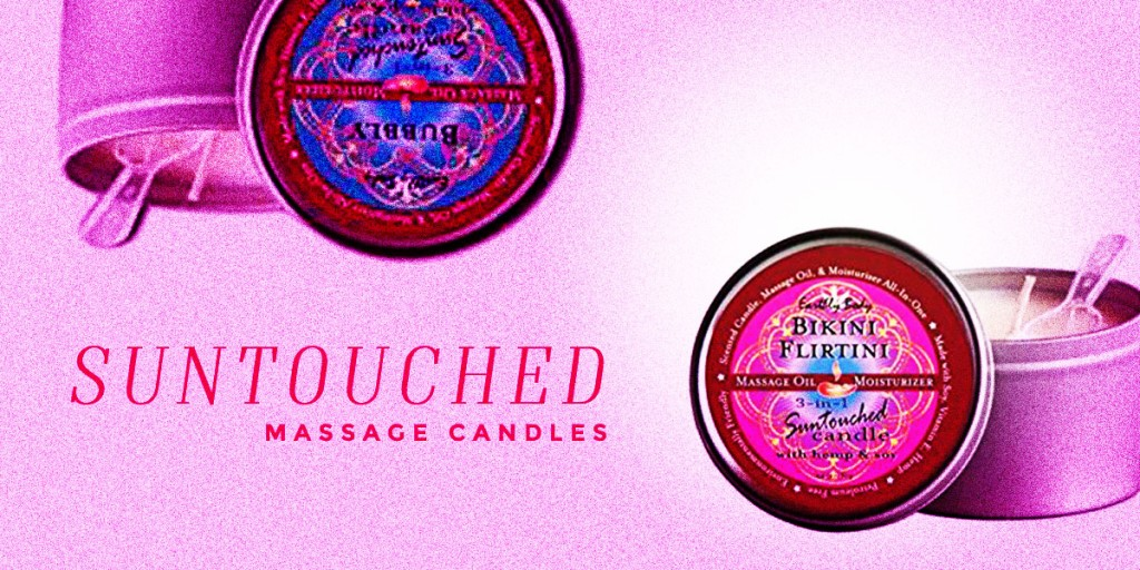 Suntouched Massage Candles
