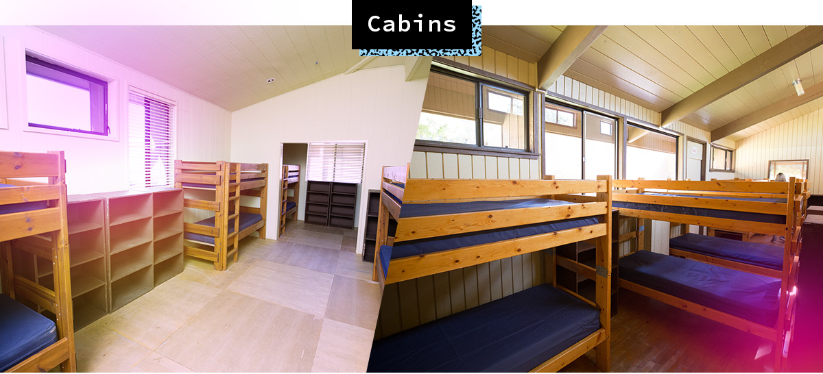 A-Camp X Lodging: Bunks