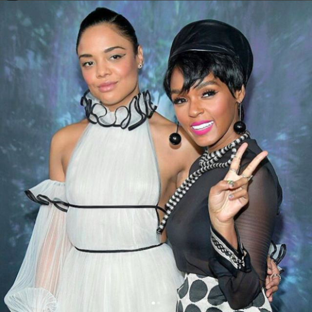 The Intensely Detailed Janelle Monáe and Tessa Thompson Timeline You