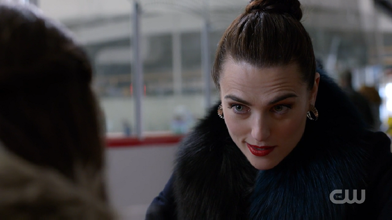 Lena smirks at Ruby