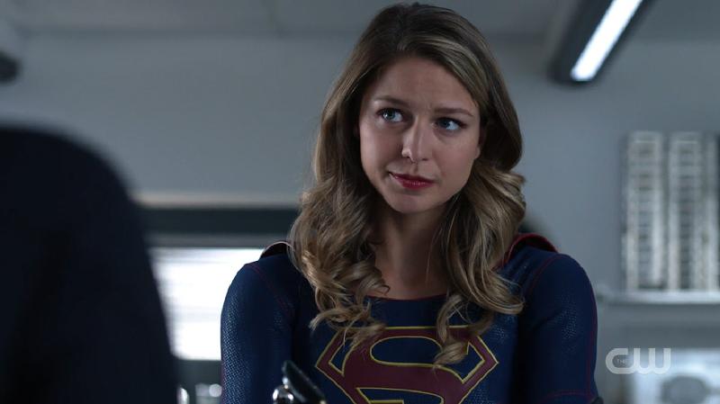 Kara looks conflicted