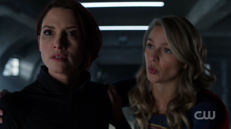 Kara holds Alex back