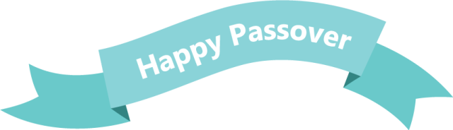 happy passover banner