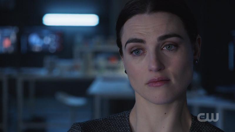 Lena looks incredibly sad