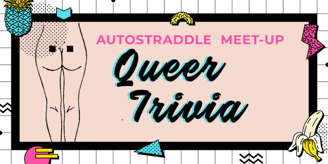 Queer trivia event graphic