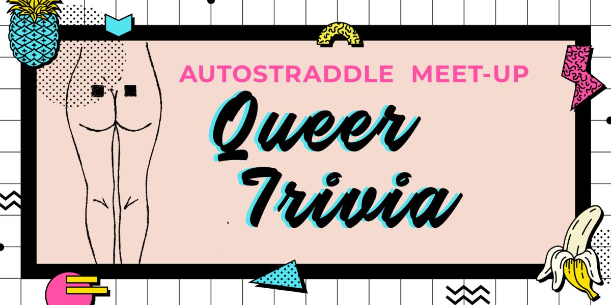 Queer trivia event graphic