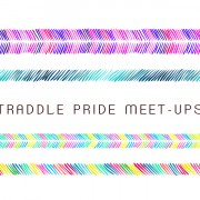 """Header graphic with multi-colored friendship bracelets with words """"Autostraddle Pride Meet-Ups 2018"""""""