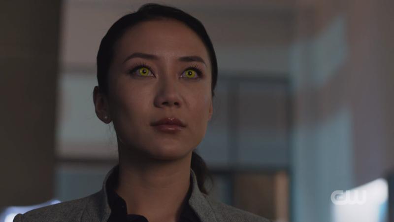 Pestilence's eyes glow