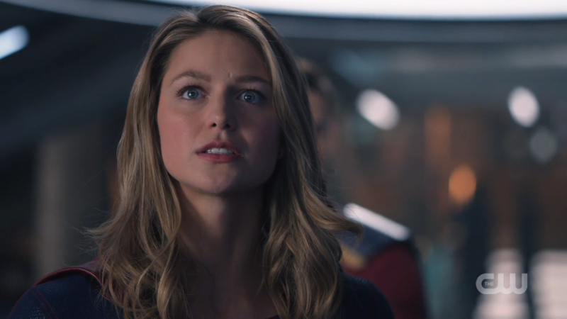 Kara looks worried about Lena