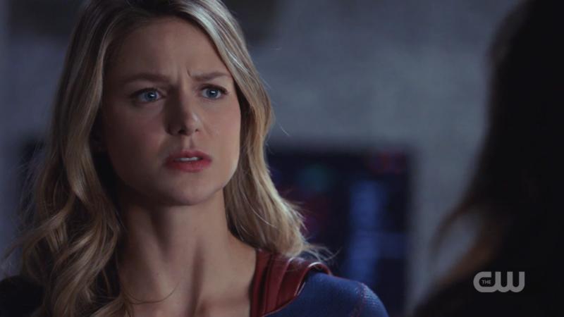 "Kara looks shook by the word ""fail"""