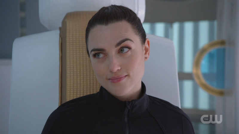Lena quirks her eyebrow and murders everyone