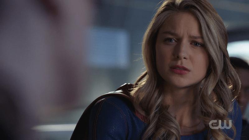 Kara looks so hurt