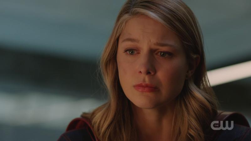 Kara looks so so so so sad