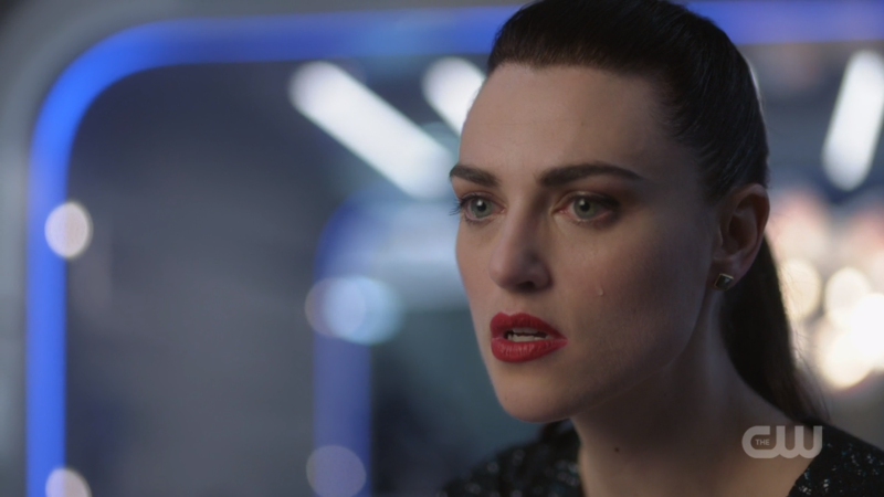 Lena lets one rage-tear fall down her cheek