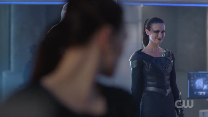 Reign smirks at Lena