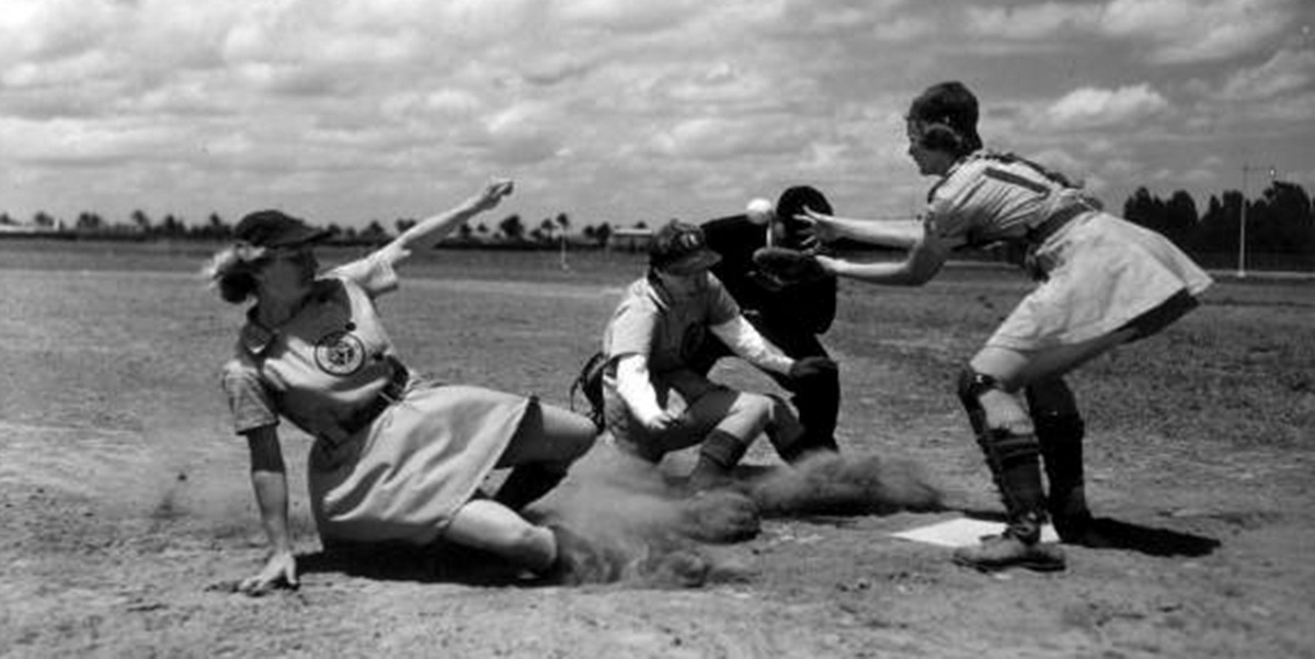 all american girls baseball league - 1000×574