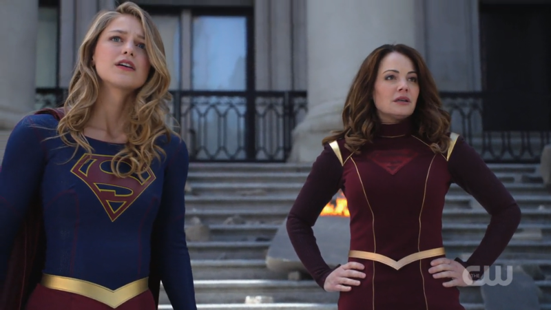 Kara and Alura look over National City's new relative calm