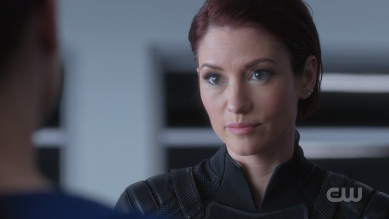Alex listens to Lena intently
