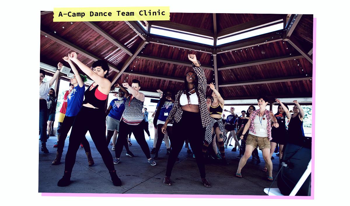 A-Camp Dance Team Clinic