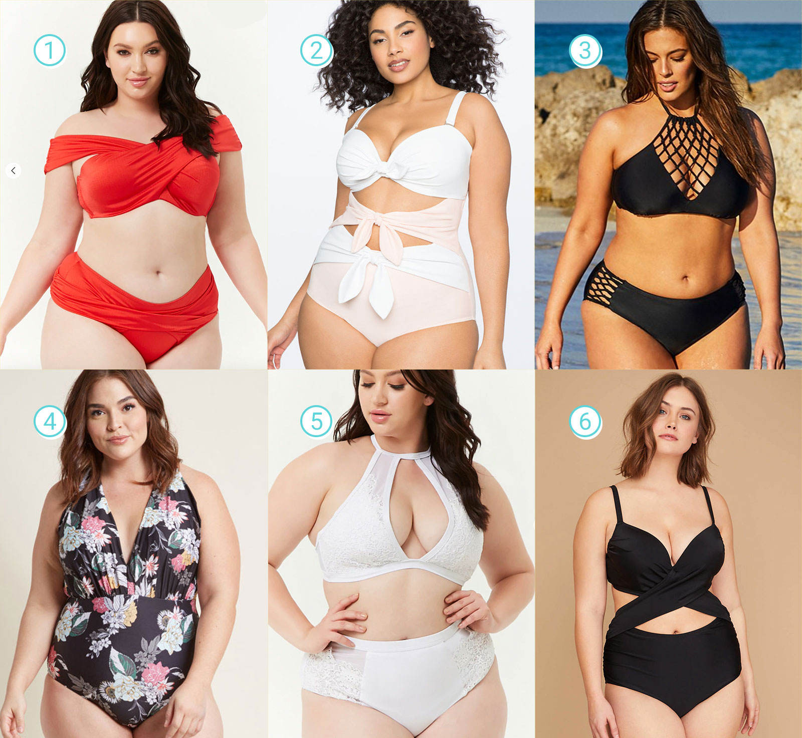 Sexy & Chic Plus Size Swimsuits Guide