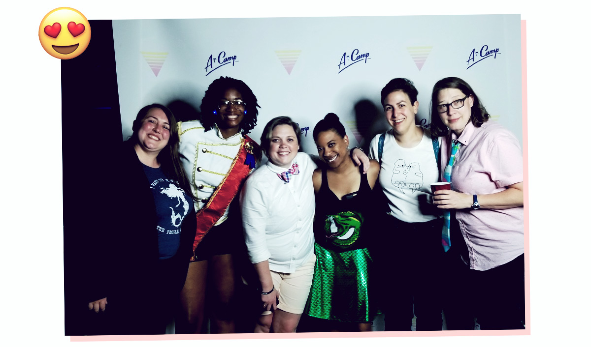 image of valerie and friends at the last night dance