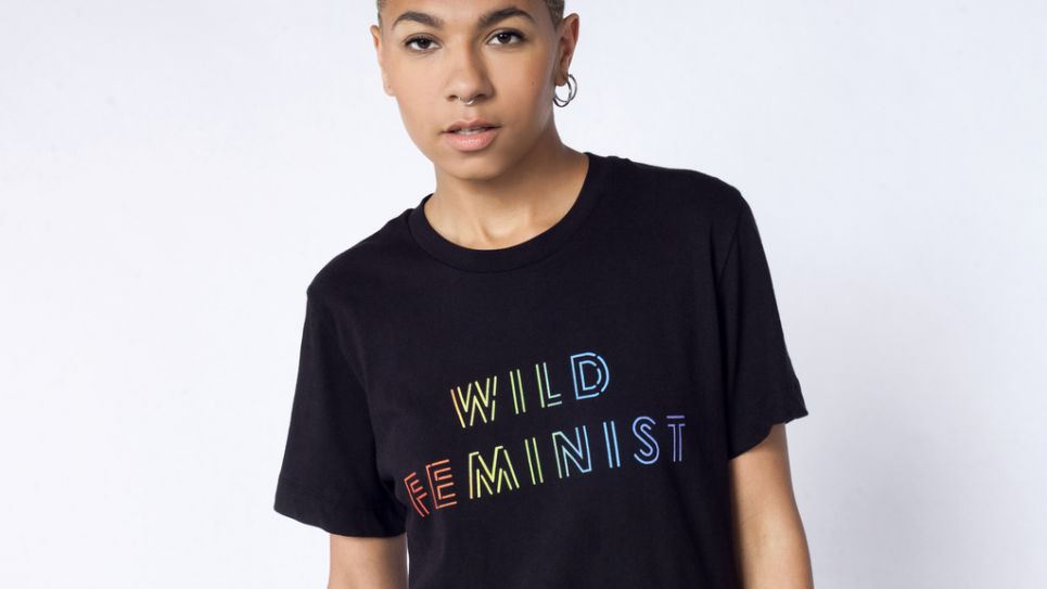 af378c46c Although a portion of the proceeds from the Wild Feminist Pride Collection  go towards the Trevor Project, it's worth noting that Wildfang is owned and  ...