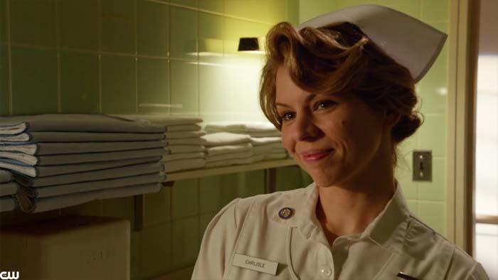 Betty McRae as a nurse