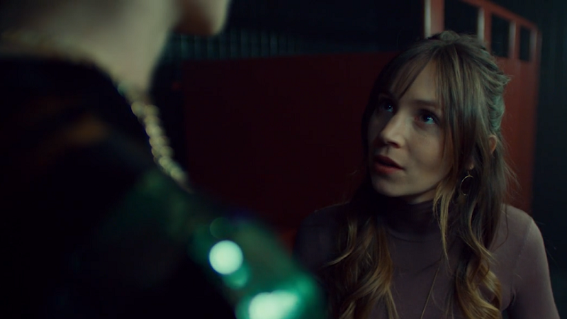 Waverly reassures Petra even though she has to look up at her
