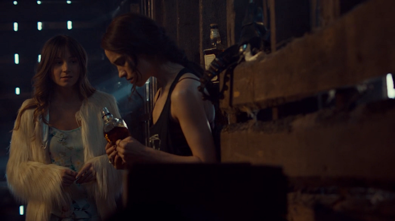 Waverly and Wynonna have a heart to heart