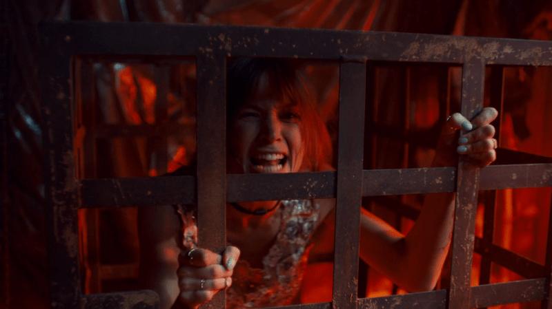 Caged Waverly screams