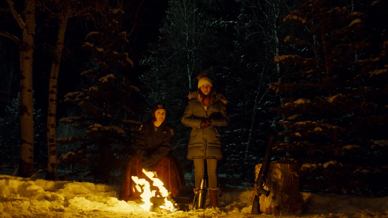 WayHaught are by a fire looking way cold