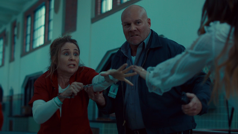 Mama looks panicked that Waverly touched her