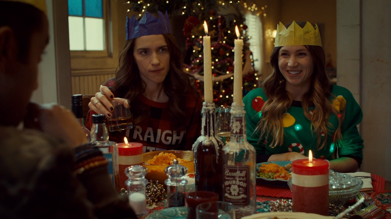 Waverly is so happy and is wearing a paper crown