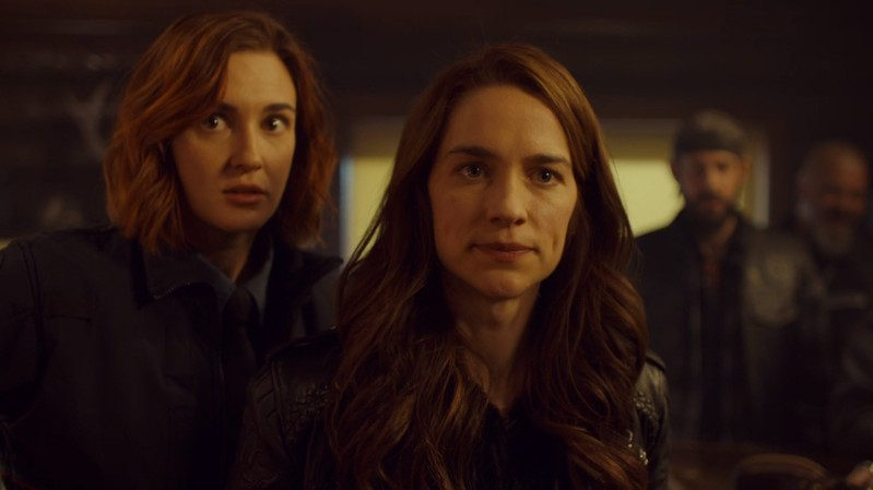 Wynonna looks like she regrets all of her decisions