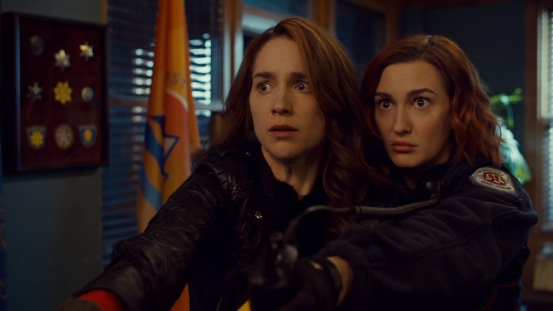 Wynonna and Haught don't look like they want to be Gnome Wives