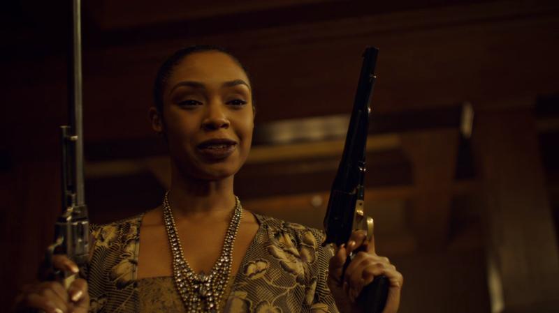 Kate's got both guns now