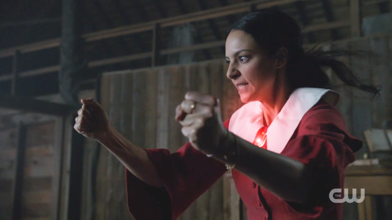 Zari looks scared of her own power