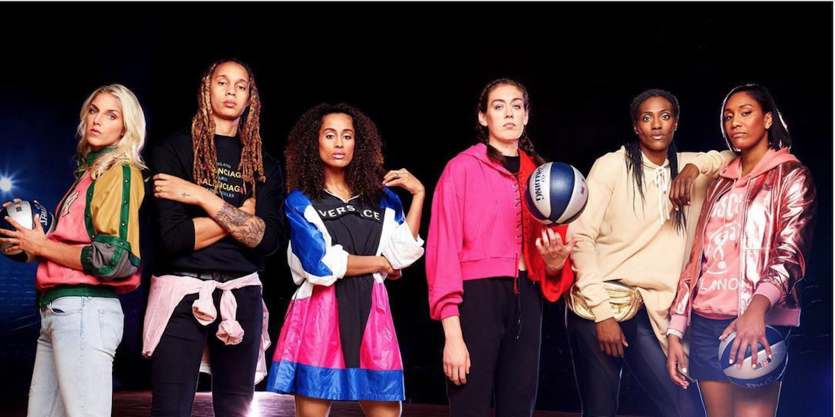 Sunday Funday Loves the WNBA's Queer Style and The First Trans Superhero on TV