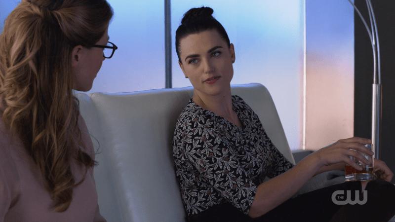 Lena looks saucily at Kara