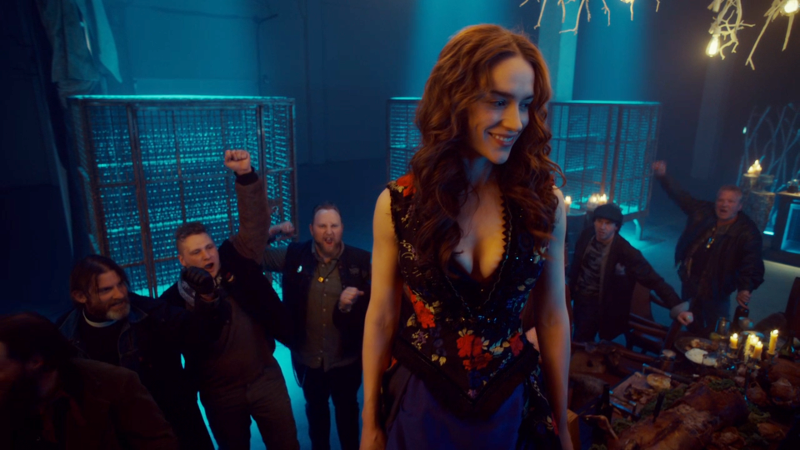 Wynonna looks down at her Revenant army and smiles