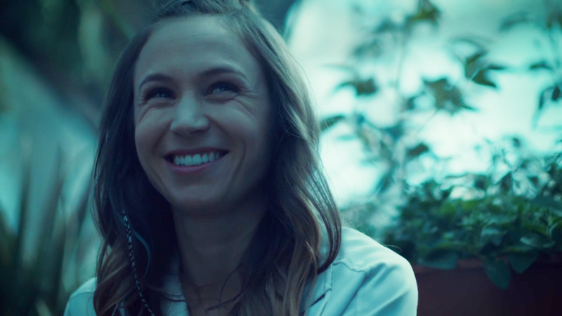 Waverly beams while talking about Nicole