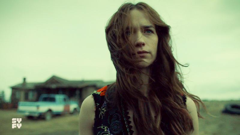 Wynonna's hair whips around her