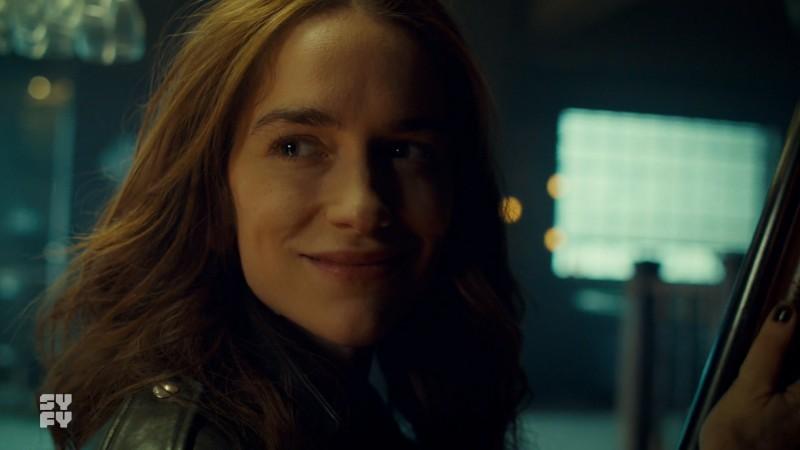 Wynonna smiles