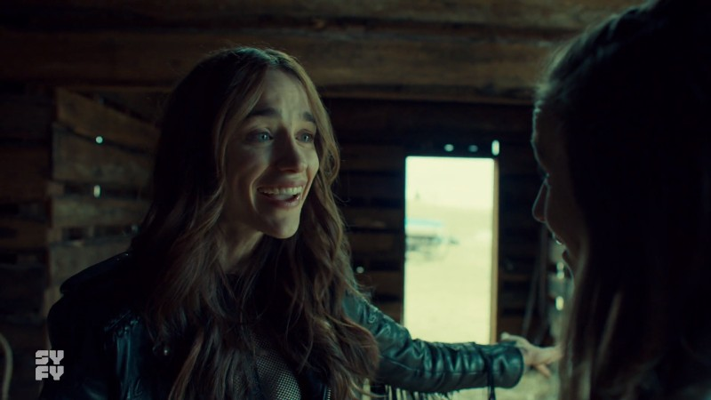 Wynonna laughs in disbelief