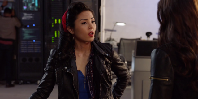 """Shot of Anna Akana from Stitchers, Anna Akana is going to star in Demi Lovato's new comedy """"Hunger"""""""